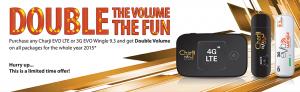 EVO Wingle & CharJi Evo Double volume Offer