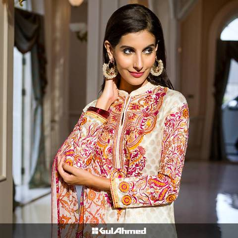 Images for gul ahmed chiffon dresses
