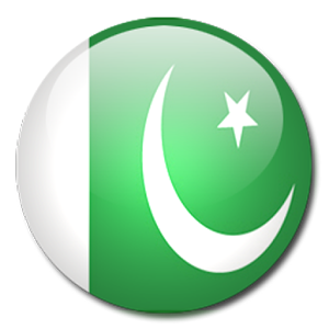 pakistan flag round pictures