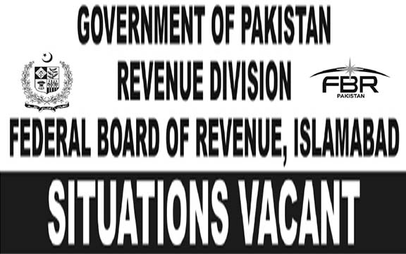 FBR Jobs 2015 from BPS-01 to BPS-15