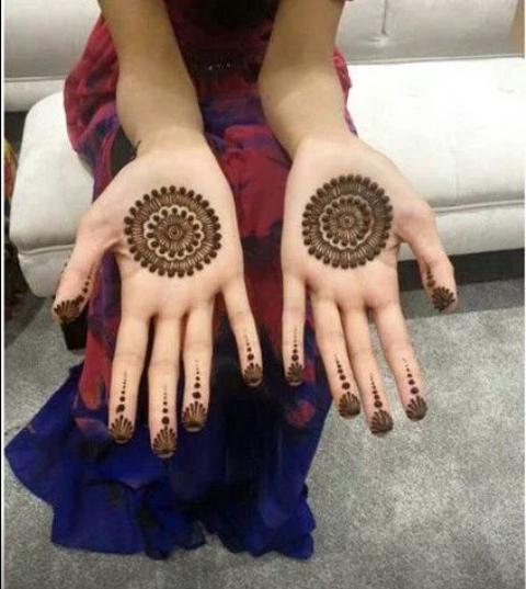 New Beautiful Pakistani Mehndi Designs 2016