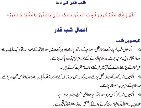 shab e qadar ki ibadat nawafil on this page.