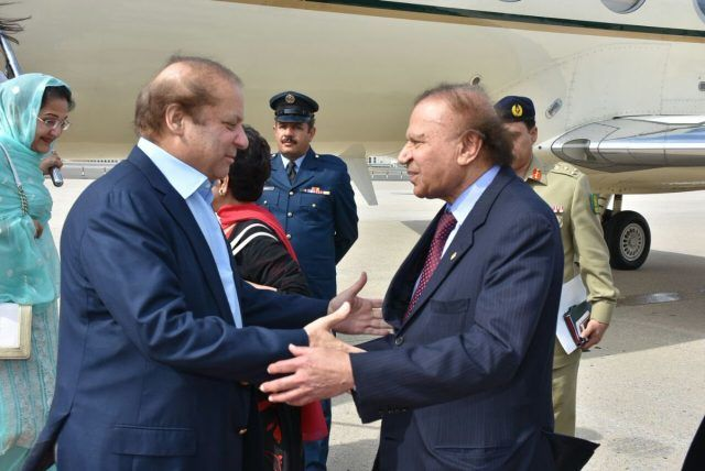 PM Nawaz arrives in New York to attend UNGA session