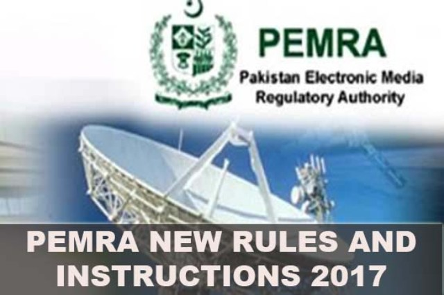 PEMRA instructions and  rules  to stop vulgarity