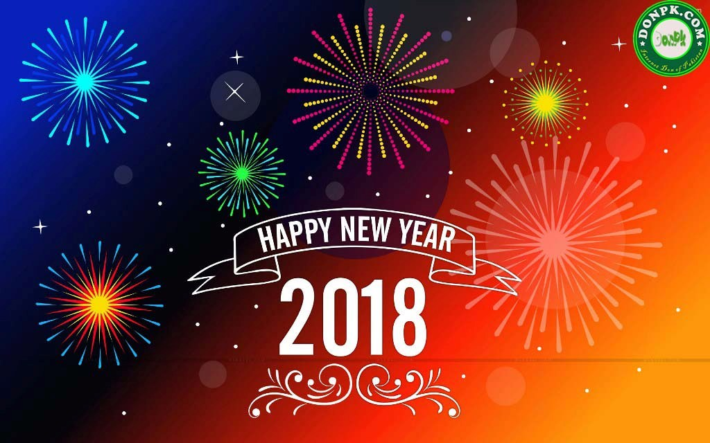 HD 2018 Happy New Year Wallpapers Pictures