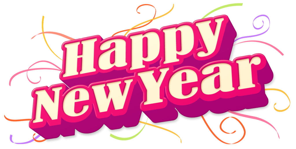 happy new year PNG pictures