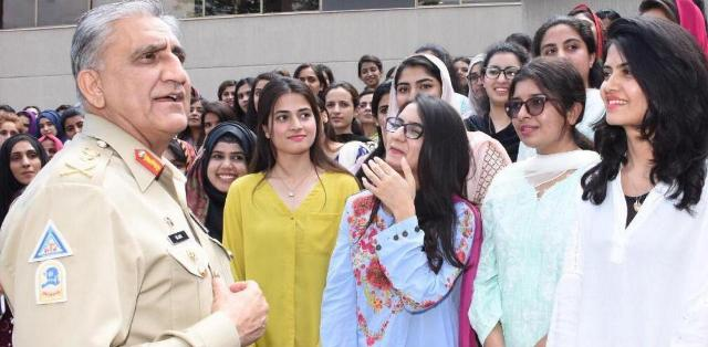 General Qamar Javed Bajwa interact with Youth