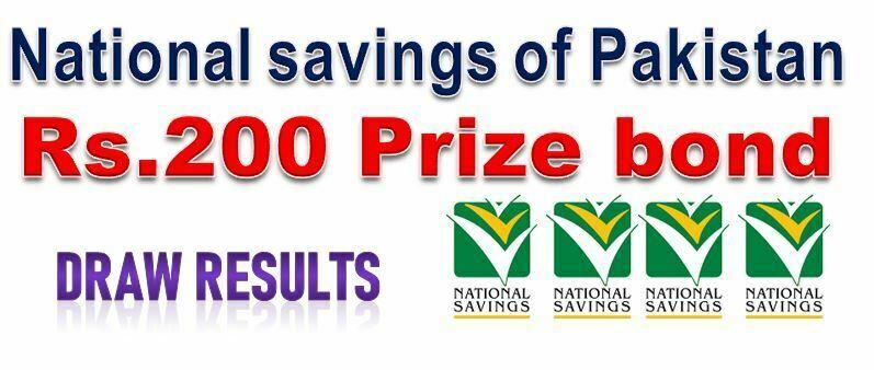 Rs. 200 Prize bond List