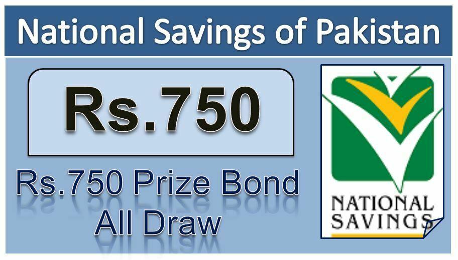 Rs. 750 Prize bond Result