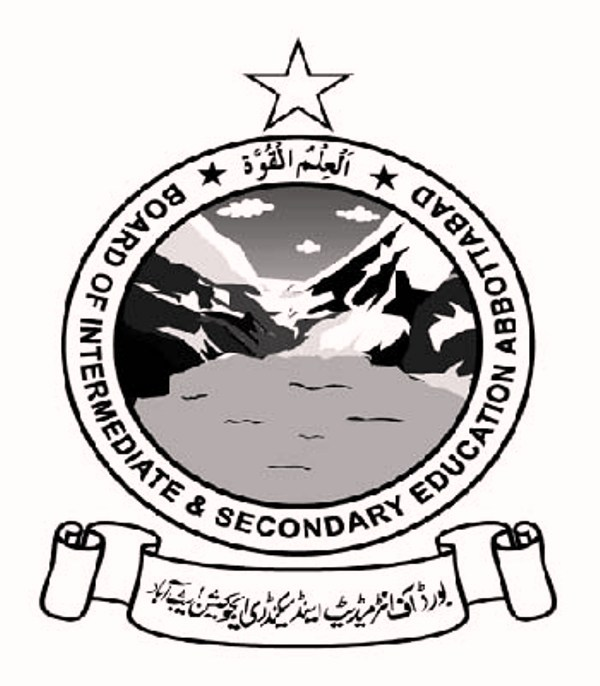 Bise Abbottabad SSC 9th 10th Class Result