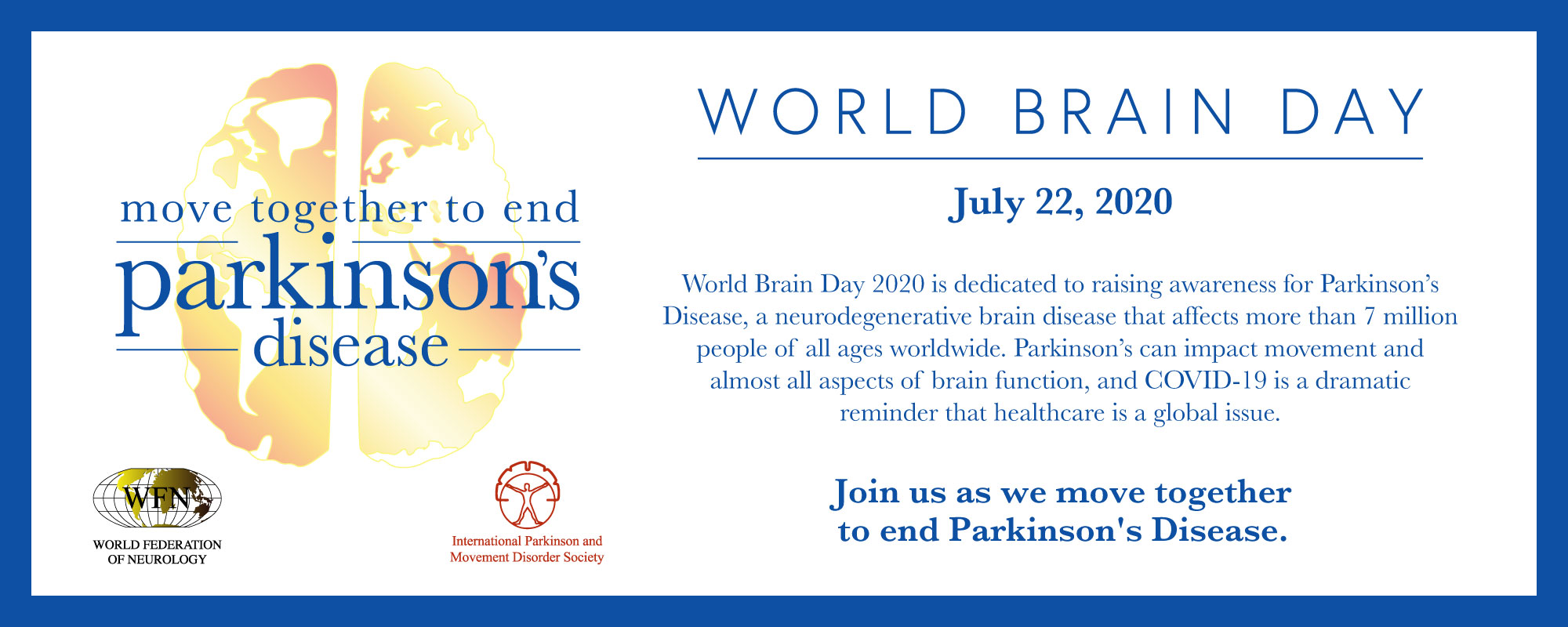 World Brain Day Celebrated in Pakistan to end up Parkinson's disease