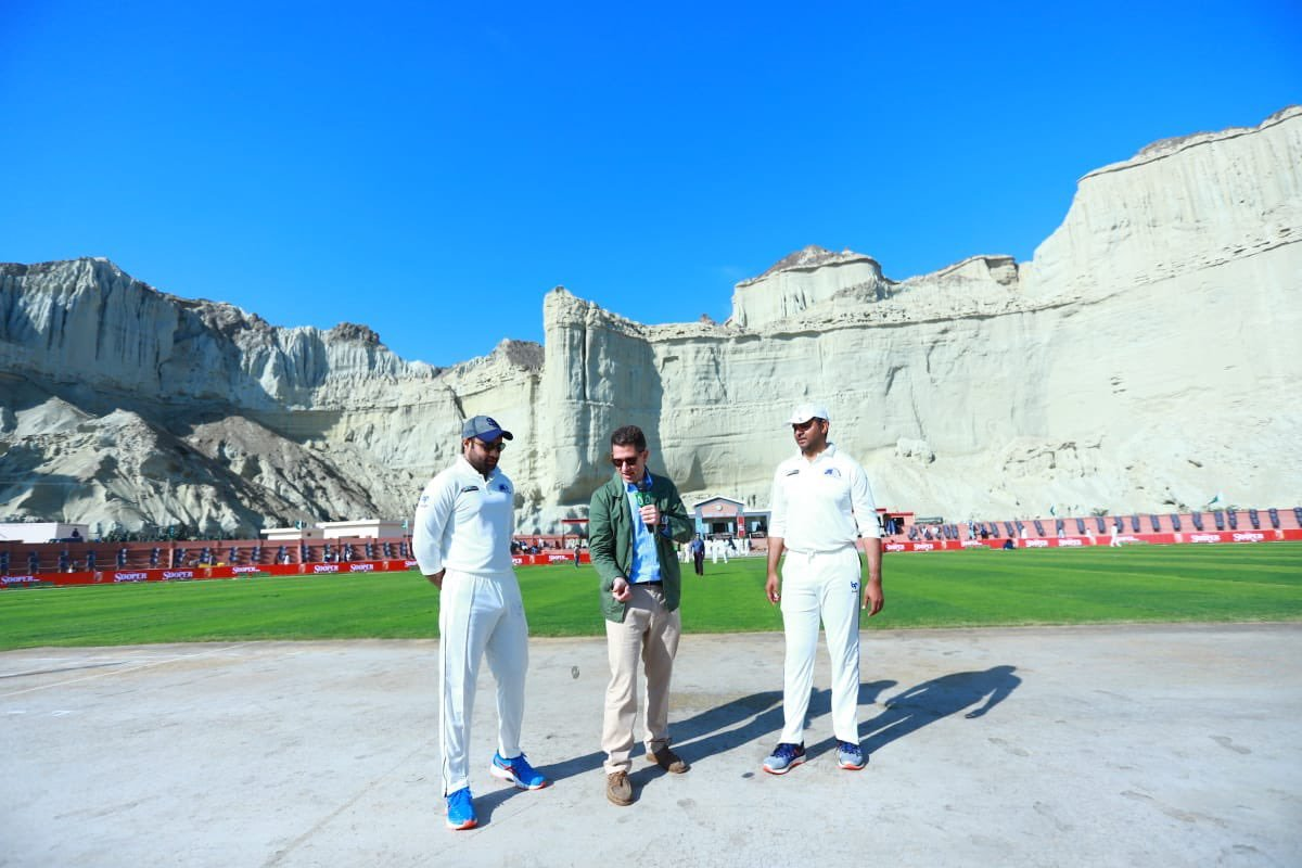 british high commissioner  at Gwadar cricket stadium