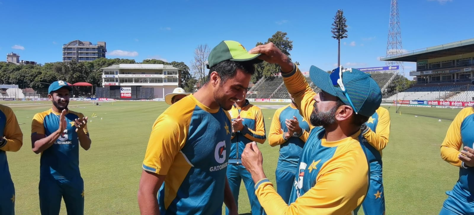 Arshad Iqbal Debut in T20 for Pakistan