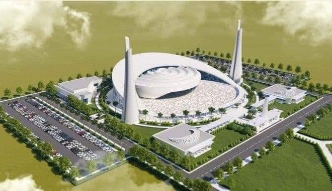 Shah Salman Bin Abdul Aziz Mosque in Pakistan
